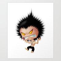 Mr. Zhong: Mad Art Print