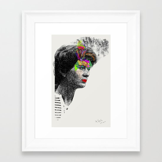 Mama Framed Art Print