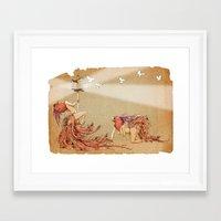 The Whores Of Horus Framed Art Print