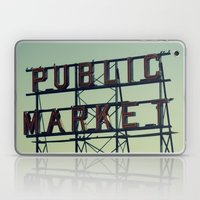 public market... Laptop & iPad Skin