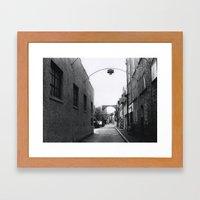 Downtown Salem Framed Art Print