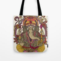 Lord Ganesha Tote Bag