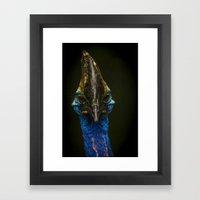The Cassowary Framed Art Print