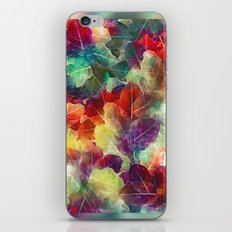 Multicolor Leaves iPhone & iPod Skin