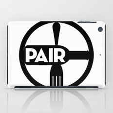 Food And Wine Pairing iPad Case