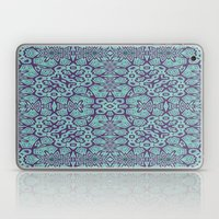 Ethnic Geo Teal & Plum Laptop & iPad Skin