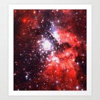 Lucky Stars Art Print