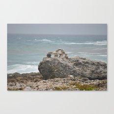 Rocks-Sea Canvas Print