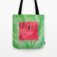 Fresh: Watermelon Tote Bag