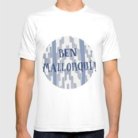 Ben Mallorquí Mens Fitted Tee White SMALL