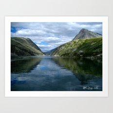 Rondane - Rondevannet  Norway Art Print