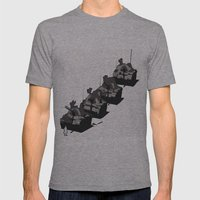 posizione Mens Fitted Tee Athletic Grey SMALL