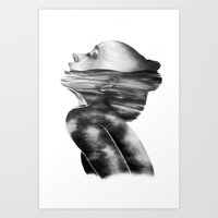 Dissolve // Illustration Art Print