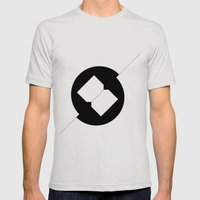 Break Spot Mens Fitted Tee Silver SMALL