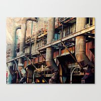 Pipe Dreams II  Canvas Print