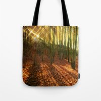 Glittering Forest Tote Bag