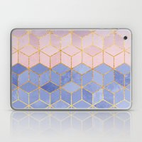 Rose Quartz & Serenity Cubes Laptop & iPad Skin