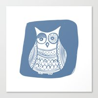 Hoot 1 Canvas Print