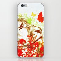 Beast and the Butterflies II iPhone & iPod Skin