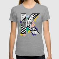 K for ... Womens Fitted Tee Tri-Grey SMALL