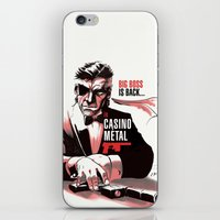 METAL GEAR: Casino Metal iPhone & iPod Skin