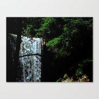 Cucumber Falls Canvas Print