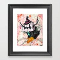 The Robot Monster 001011… Framed Art Print