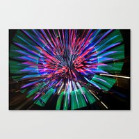 Night Light 144 - Wheel Canvas Print