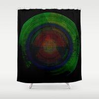 Hypernova II Shower Curtain