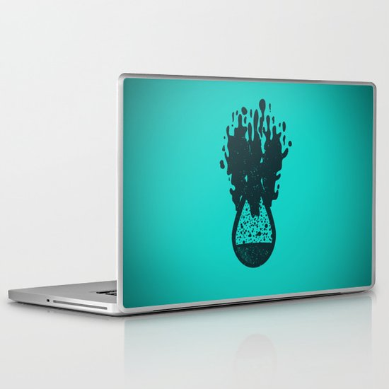 H(2O) - Bomb Laptop & iPad Skin