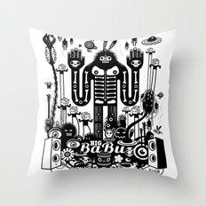 Big Babu Throw Pillow