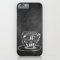 Cup Full Of Love Chalkbo… iPhone 6 Slim Case