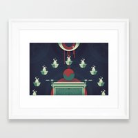Swallowed By The Earth (… Framed Art Print