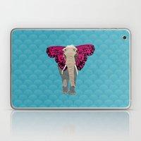 Elephant Butterfly Laptop & iPad Skin