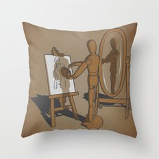 My own model. Throw Pillow