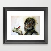 Greenman Framed Art Print