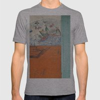 tropical island  Mens Fitted Tee Athletic Grey SMALL