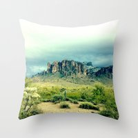 Superstition Throw Pillow