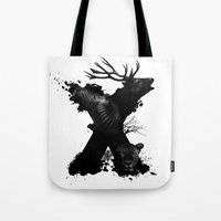 X ANIMALS Tote Bag