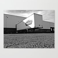 Canvas Print featuring Nalley warehouse by Vorona Photography