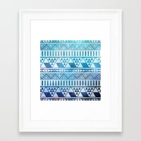 Tribal Vision. Framed Art Print