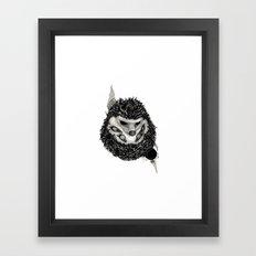 H3D93H09 (Hedgehog) Framed Art Print