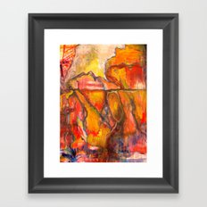Devil's Stairs Framed Art Print