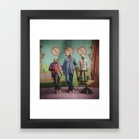 The Three Distinguished … Framed Art Print