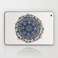 Morning Mist Mandala Laptop & iPad Skin