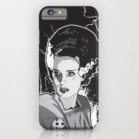 iPhone & iPod Case featuring Bride of Frankenstein by Matt Fontaine