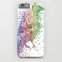 iPhone & iPod Case featuring A Crow of Lace and Color by Ben Geiger