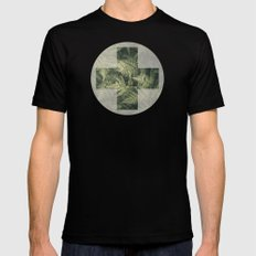 SECRET GARDEN (MINT FLAVOURED) Mens Fitted Tee Black SMALL