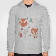 Baby Fox Pattern 01 Hoody