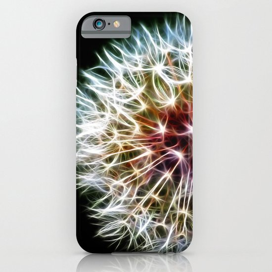 Fractal dandelion iPhone & iPod Case